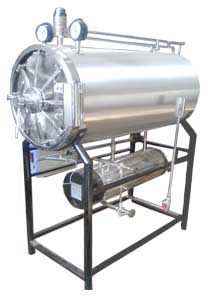 Horizontal Autoclave - Cylindrical