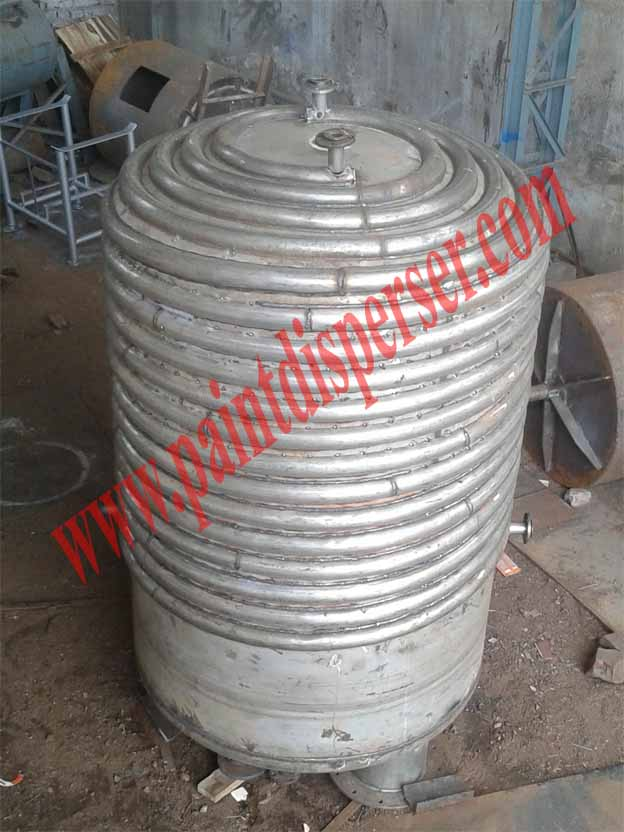 Limpet coil Storage tank